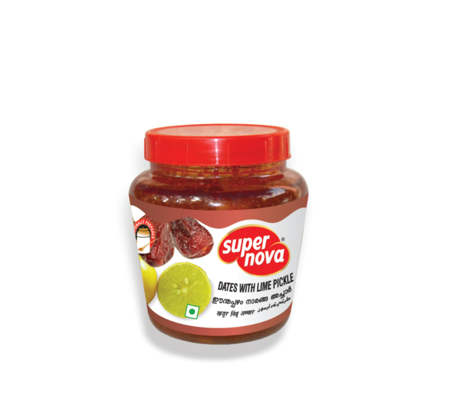 Dates with Lime Pickle Kerala