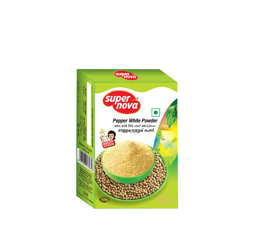 White Pepper Powder Kerala